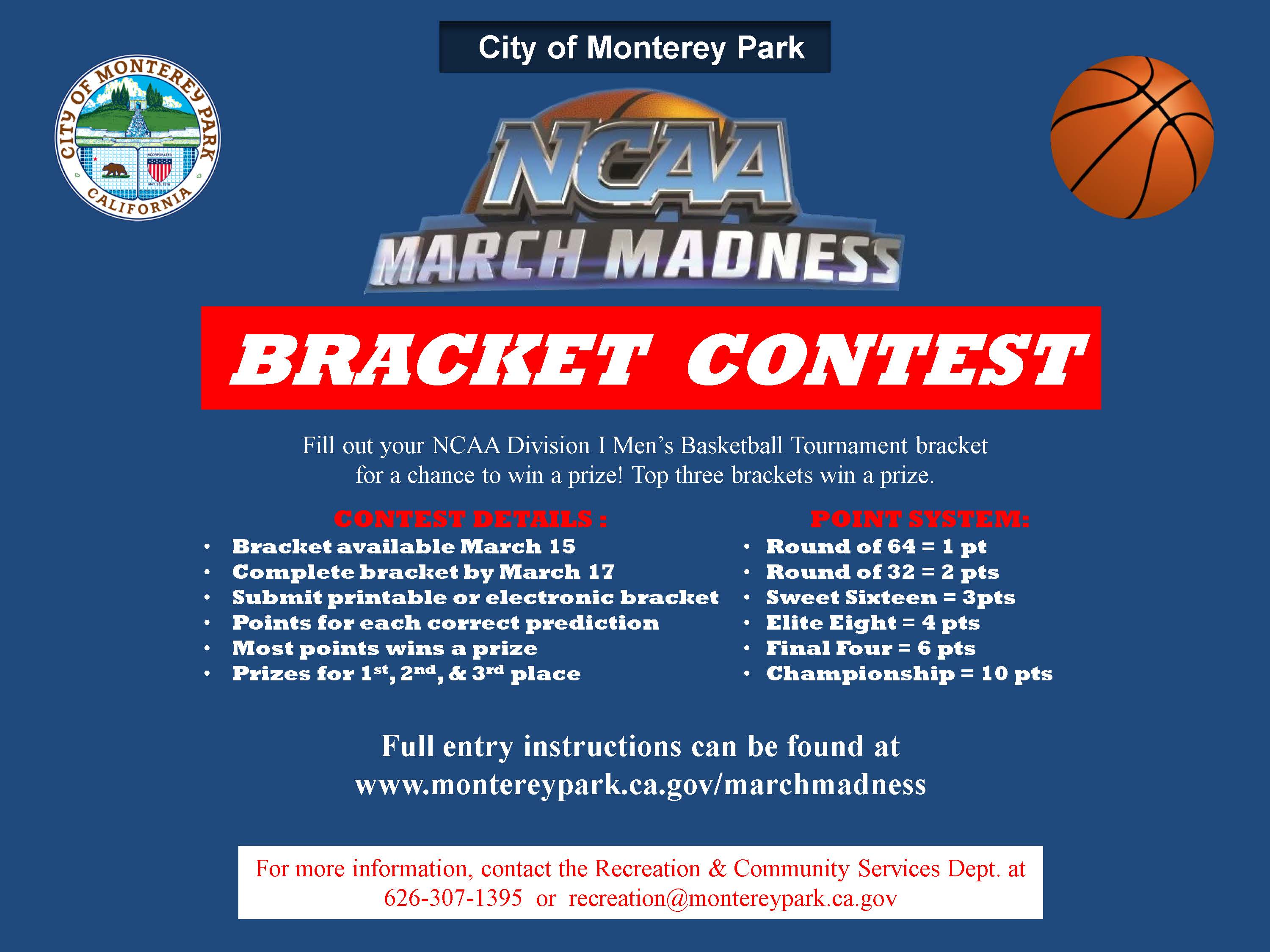 03 Rec March Madness Flyer 2021